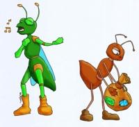 La-Cicala-Simona-la-formica-Beatrice