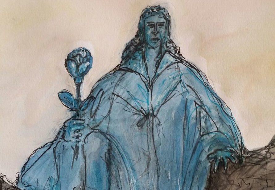 """""""Il Cavaliere Blu"""" di Samuel Dossi"""